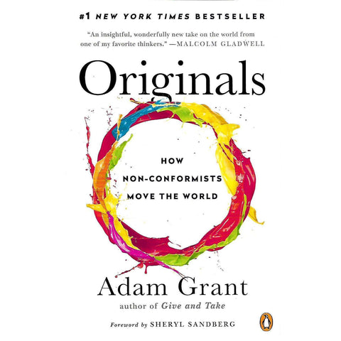 Originals: How Non-Conformists Move the World (Author's Signature Pasted In) | Adam Grant