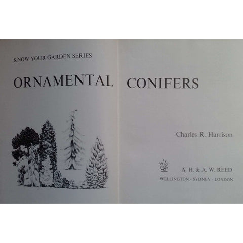 Ornamental Conifers (Know Your Garden Series) | Charles R. Harrison