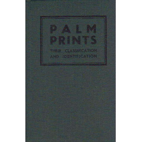 Palm Prints: Their Classification and Identification | Detective Sergeant Vaughan Sharp