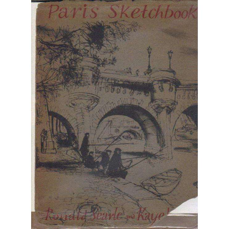 Bookdealers:Paris Sketchbook (Signed by the Author) | Ronald Searle and Kaye Webb