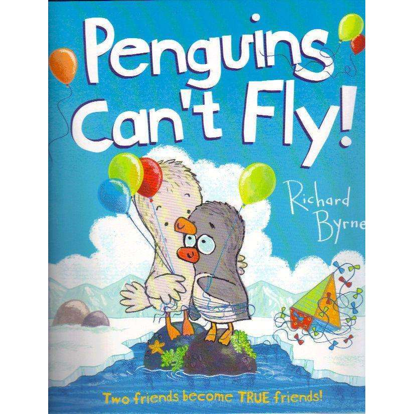 Bookdealers:Penguins Can't Fly: Two Friends Become TRUE Friends! | Richard Byrne