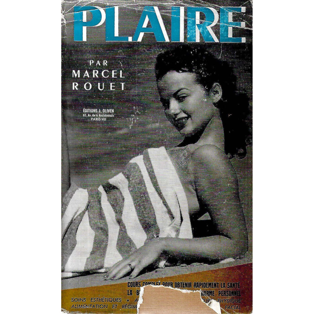 Bookdealers:Plaire (French) | Marcel Rouet