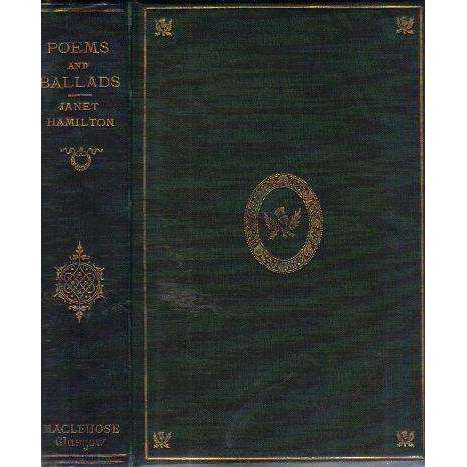 Poems and Ballads (Published 1868, A.E.G. | Janet Hamilton