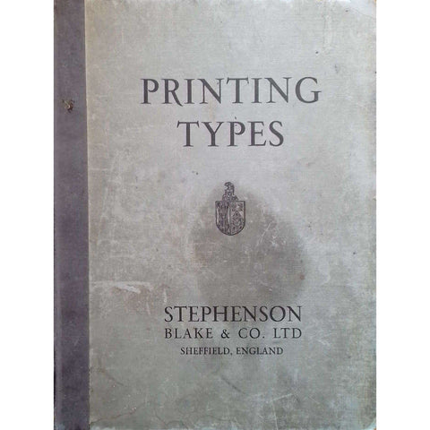 Printing Types: Borders, Initials, Electros, Brass Rules, Spacing Material