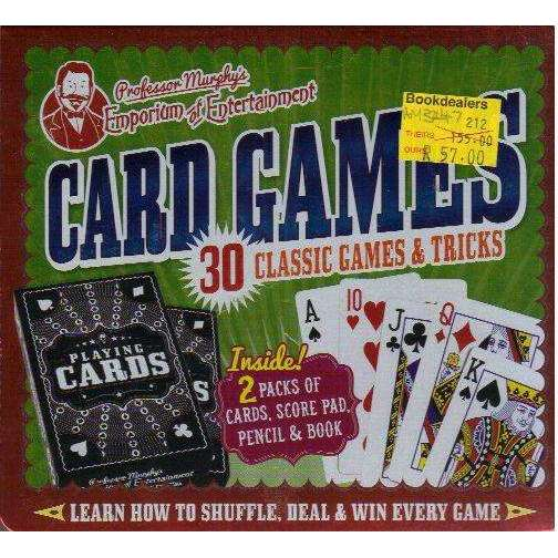 Bookdealers:Professor Murphy's Card Games Gift Set