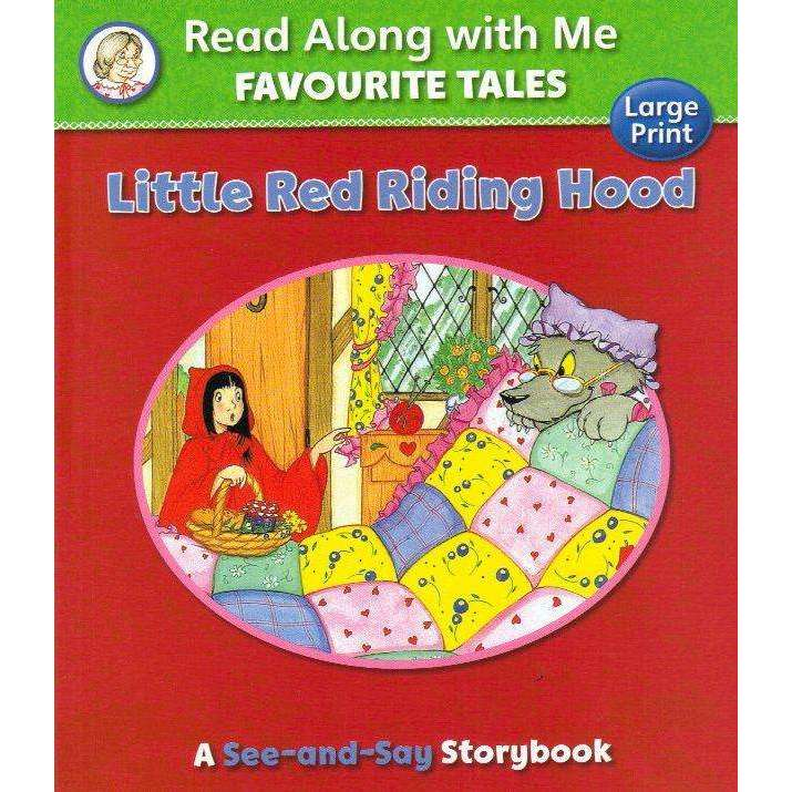 Bookdealers:Read Along With Me Favourite Tales: Little Red Riding Hood | Suzy-Jane Tanner