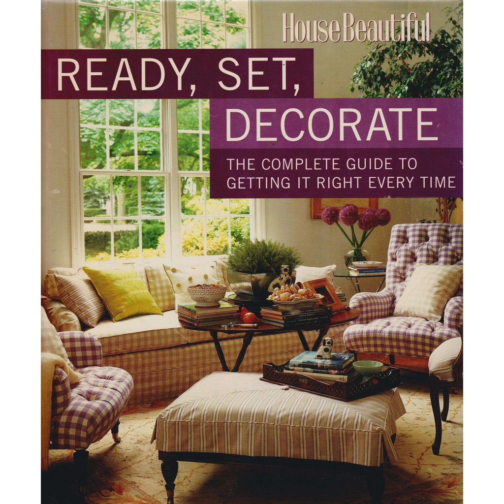 Bookdealers:Ready, Set, Decorate | House Beautiful Magazine