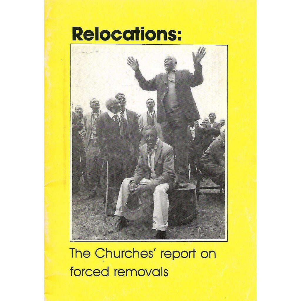 Bookdealers:Relocations: The Churches' Report on Forced Removals