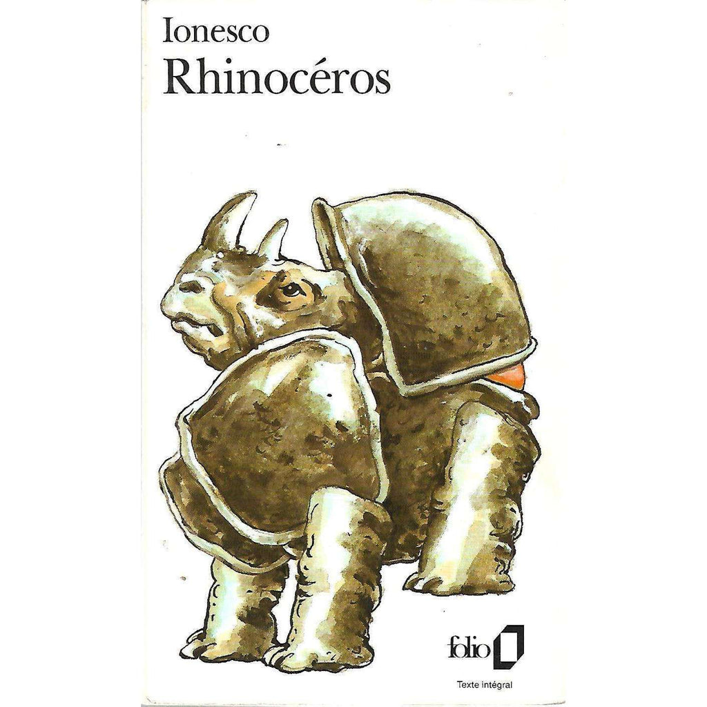 Bookdealers:Rhinoceros (French) | Eugene Ionesco