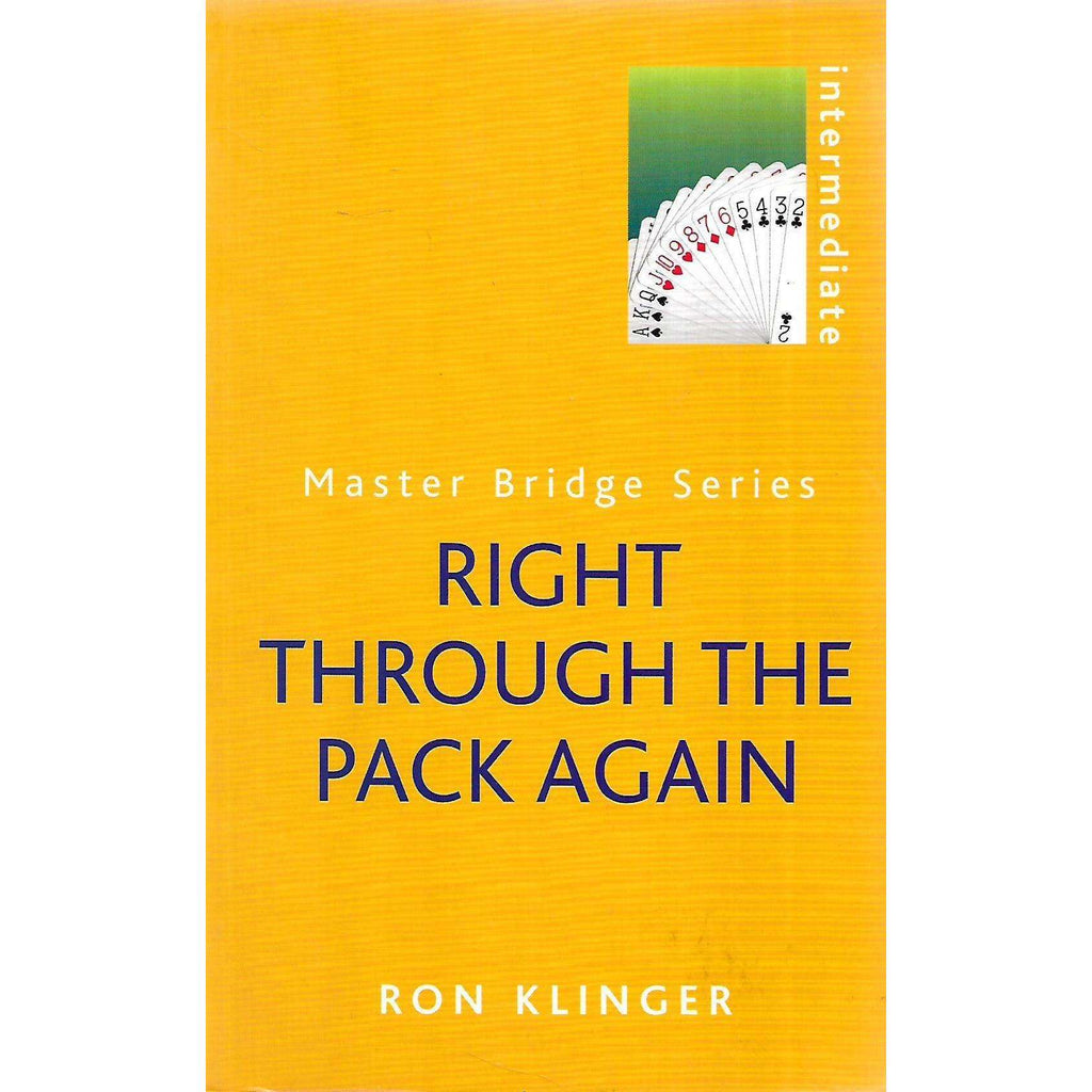 Bookdealers:Right Through the Pack Again (Master Bridge Series) | Ron Klinger