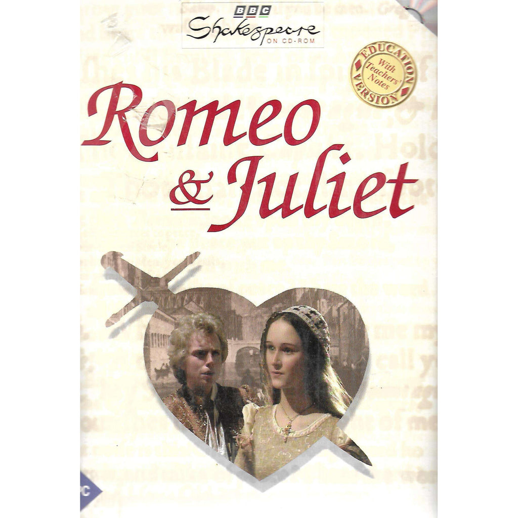 Bookdealers:Romeo & Juliet (Shakespeare on CD-ROM Series) | William Shakespeare