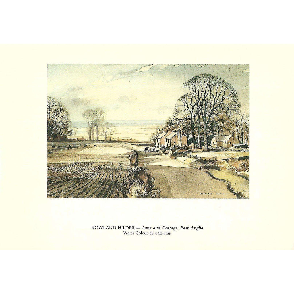 Bookdealers:Rowland Hilder (Invitation to an Exhibition of his Work)