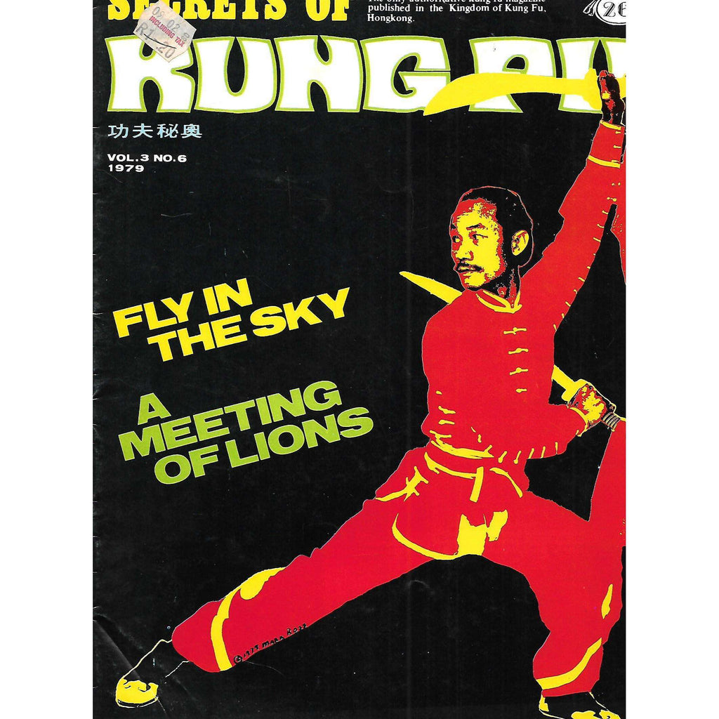 Bookdealers:Secrets of Kung Fu (Vol. 3, No. 6, 1979)