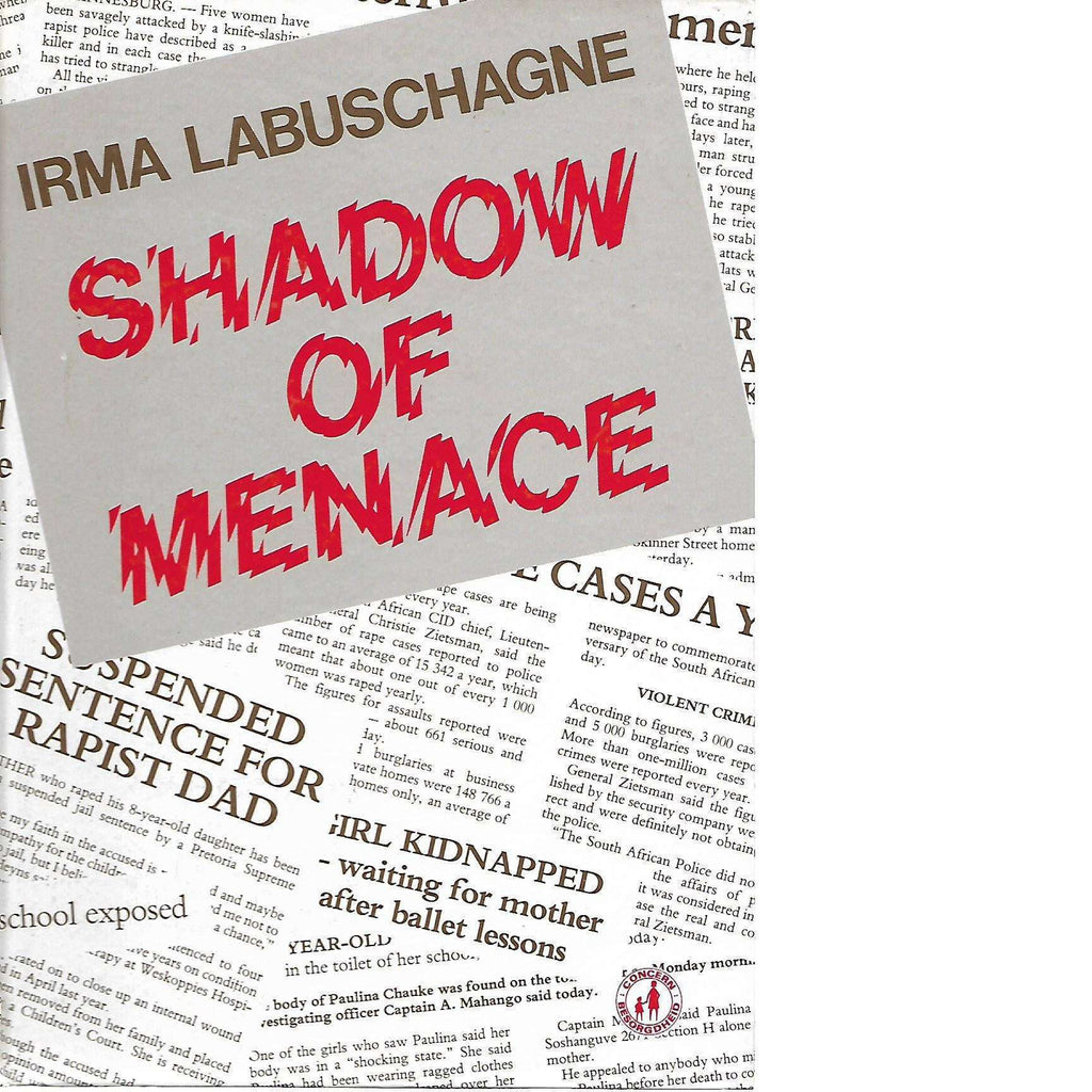 Bookdealers:Shadow of Menace | Irma Labuschagne