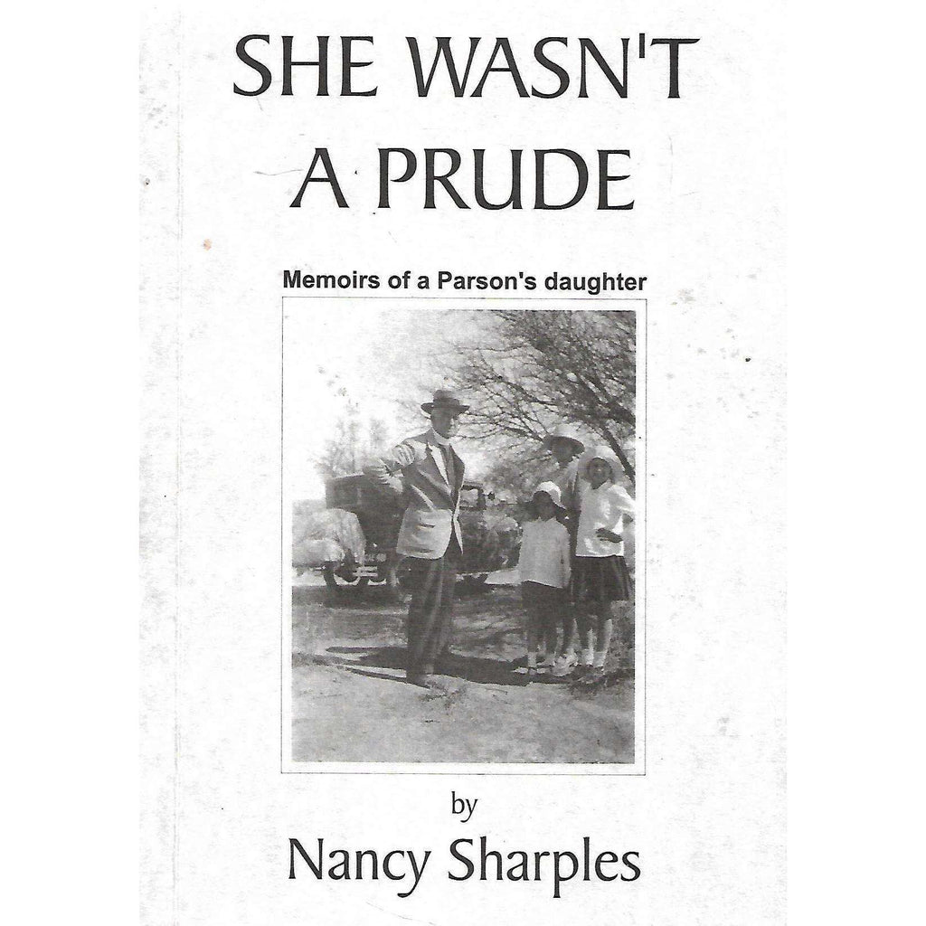 Bookdealers:She Wasn't a Prude: Memoirs of a Parson's Daughter | Nancy Sharples