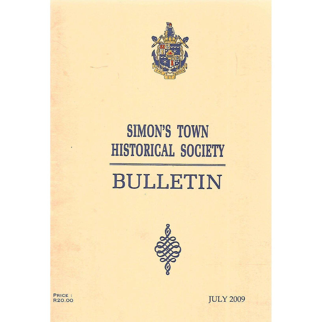 Bookdealers:Simon's Town Historical Society Bulletin (July 2009)