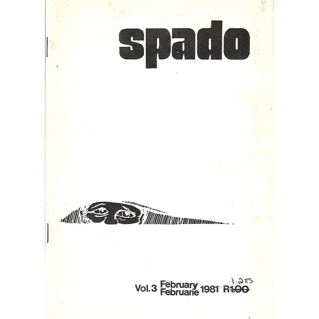 Bookdealers:Spado (Vol. 3, February 1981)
