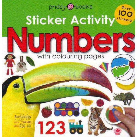 Sticker Activity Numbers (Early Learning Sticker Activity) | Roger Priddy