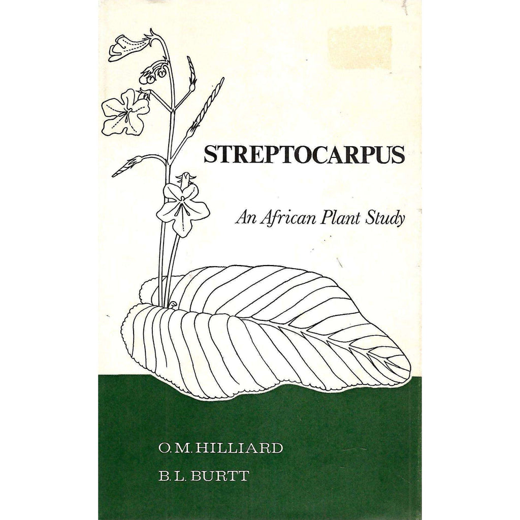 Bookdealers:Streptocarpus | O. M. Hilliard and B. L .Burtt
