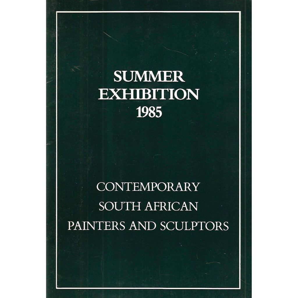 Bookdealers:Summer Exhibition 1985: Contemporary South African Painters and Sculptors (Invitation to Exhibition)