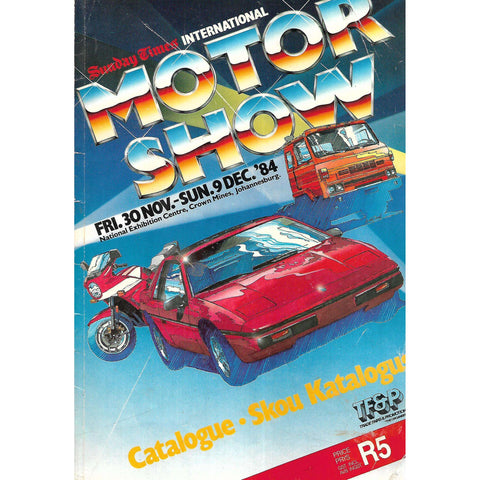 Sunday Times International Motor Show: Catalogue