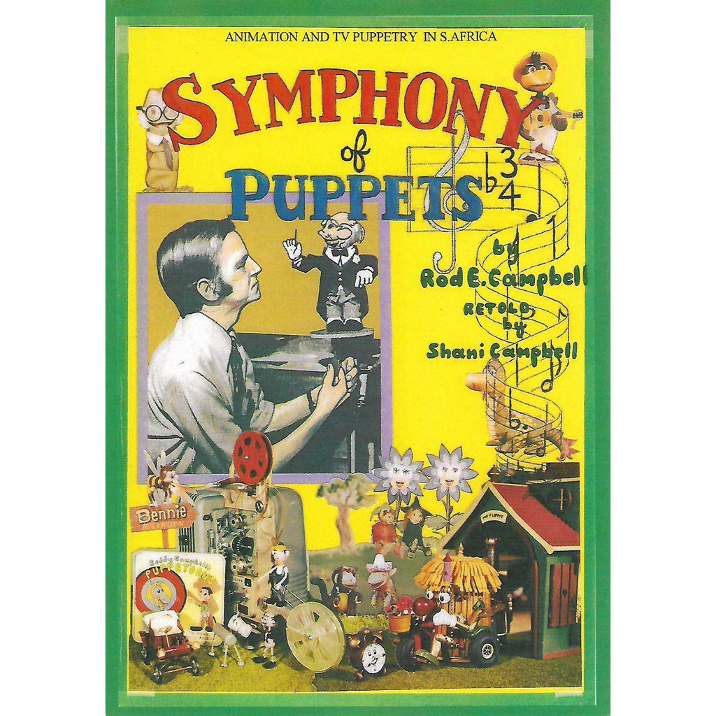 Bookdealers:Symphony of Puppets (Inscribed by Author) | Rod E. Campbell, Retold by Shani Campbell