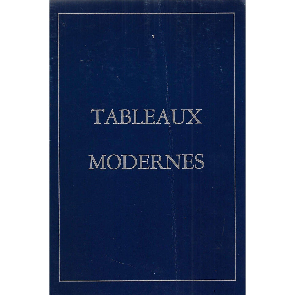Bookdealers:Tableaux Modernes (Invitation to the Exhibition)