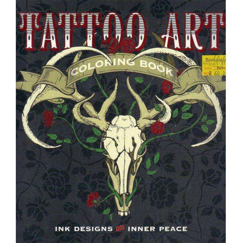 Tattoo Art Coloring Book: Ink Designs for Inner Peace (Serene Coloring) | Lark Crafts