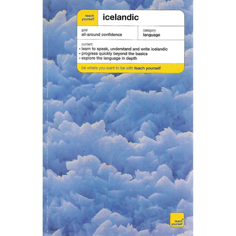 Teach Yourself Icelandic (Includes 2 Audio CDs) | Hildur Jonsdottir