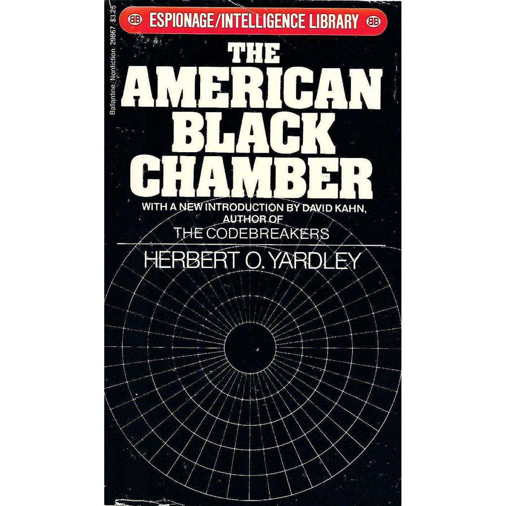 Bookdealers:The American Black Chamber | Herbert O. Yardley