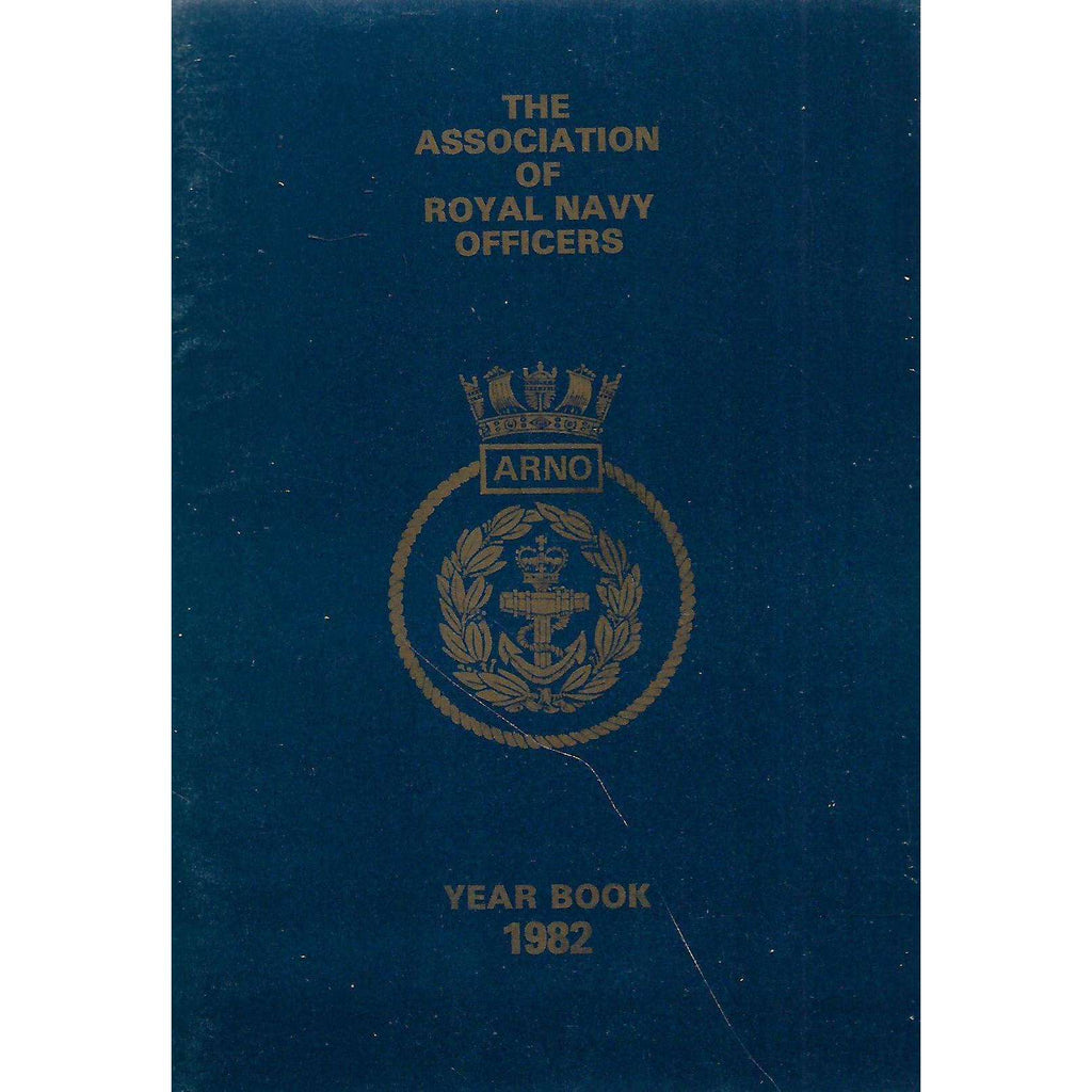 Bookdealers:The Association of Royal Navy Officers Year Book 1982