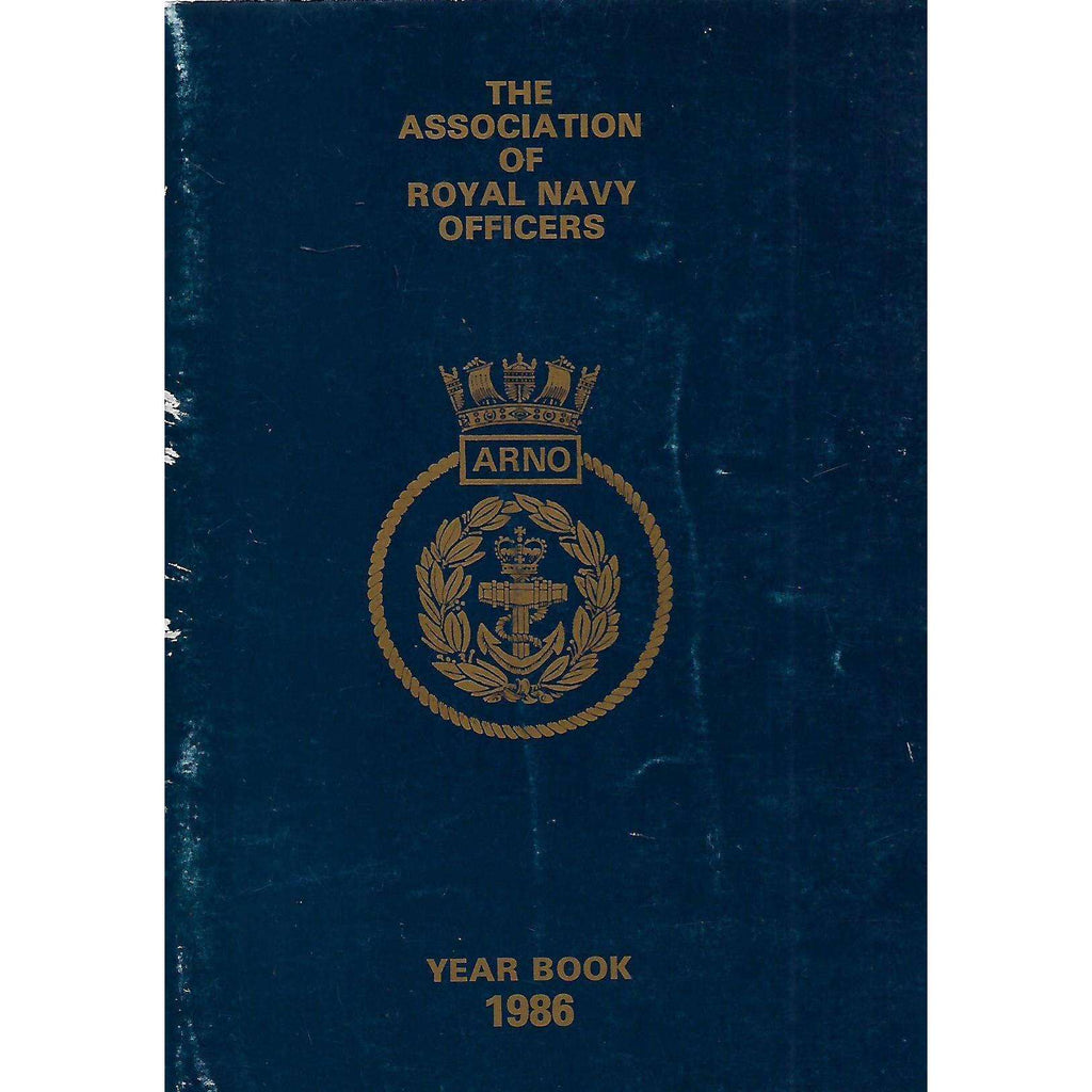 Bookdealers:The Association of Royal Navy Officers Year Book 1986