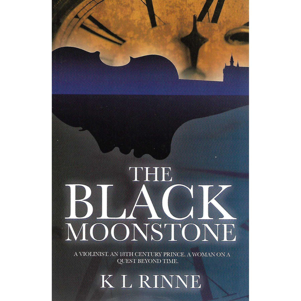 Bookdealers:The Black Moonstone (Inscribed by Author) | K. L. Rinne