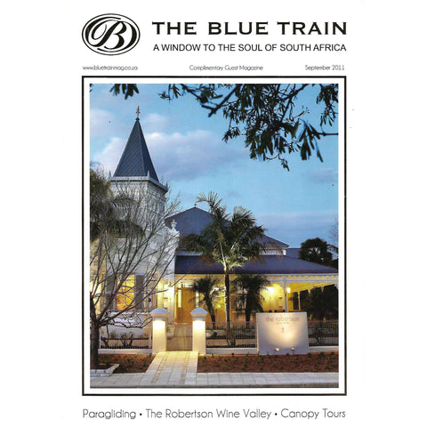 The Blue Train: A Window to the Soul of South Africa (Complimentary Guest Magazine)