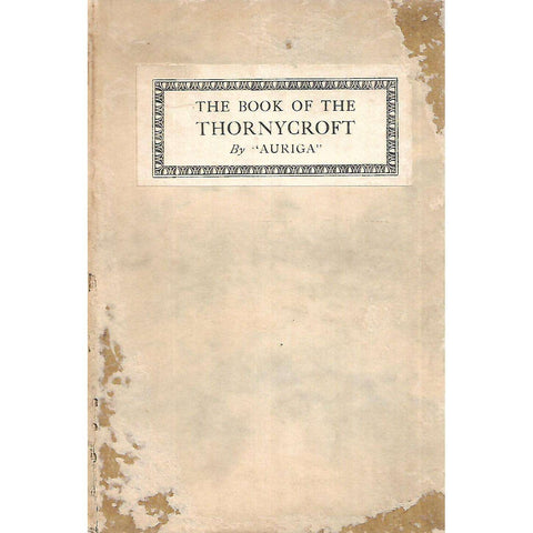 "The Book of the Thornycroft | ""Auriga"""