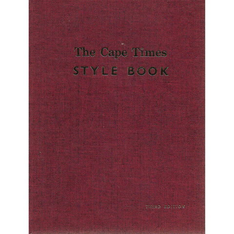 The Cape Times Style Book