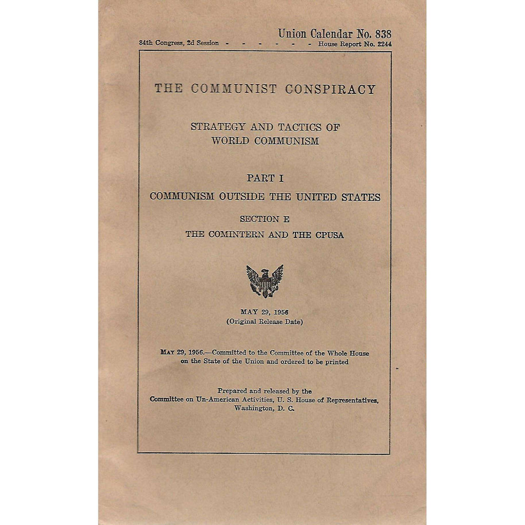 Bookdealers:The Communist Conspiracy: Strategy and Tactics of World Communism (Report No. 2244)
