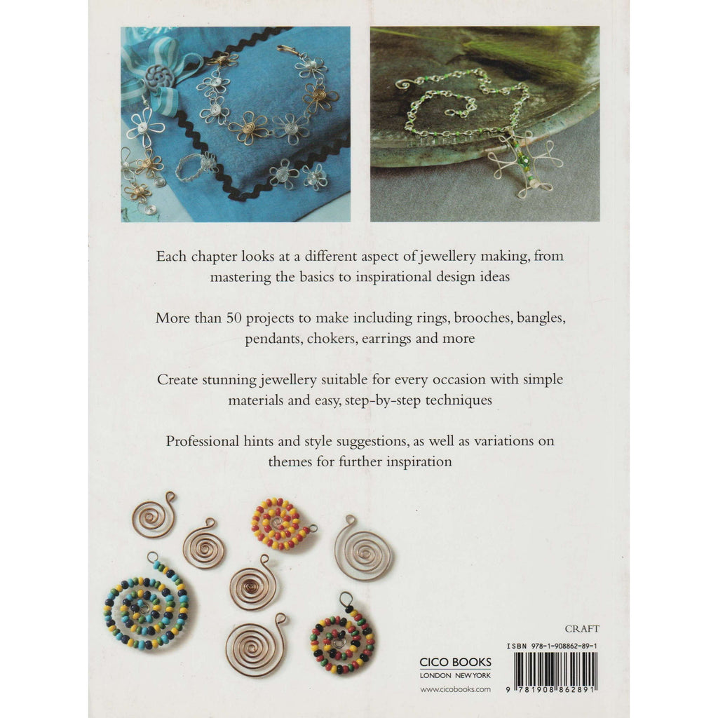 The Complete Guide To Wire Beaded Jewellery Linda Jones Book Wiring For Dummies Books Bookdealersthe