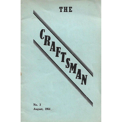 The Craftsman (No. 3, August 1954)