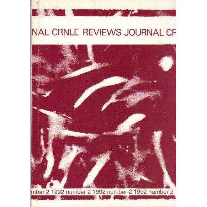 Bookdealers:The CRNLE Reviews Journal (Number 1 1982) | Editors Annie Greet, Dr Katherine Prior