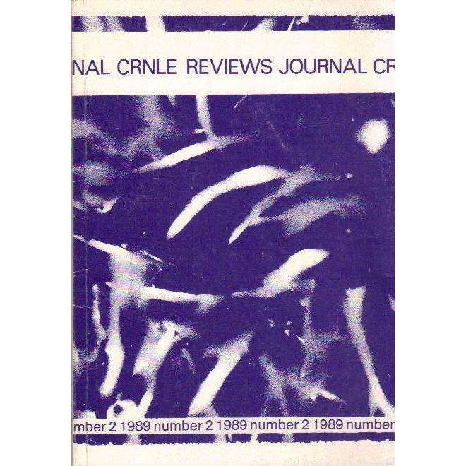 Bookdealers:The CRNLE Reviews Journal (Number 2  1989) | Editor's Haydn Moore Williams, Dr Susan Hosking, Annie Greet