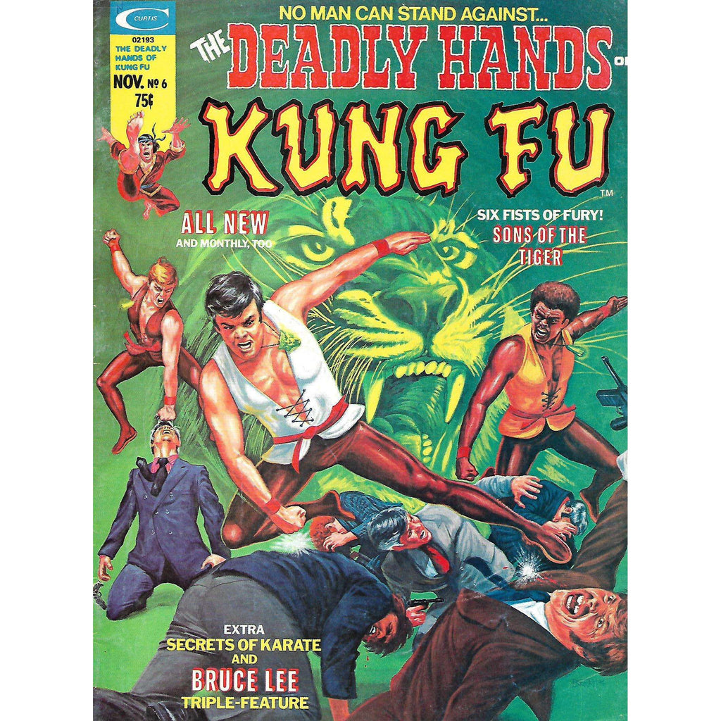 Bookdealers:The Deadly Hands of Kung Fu (Vol. 1, No. 6, November 1974)
