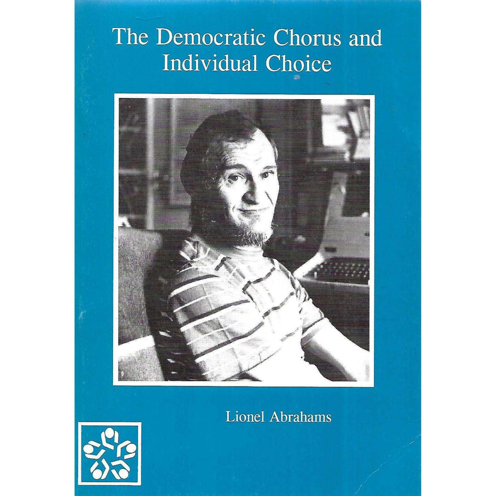 Bookdealers:The Democratic Chorus and Individual Choice | Lionel Abrahams