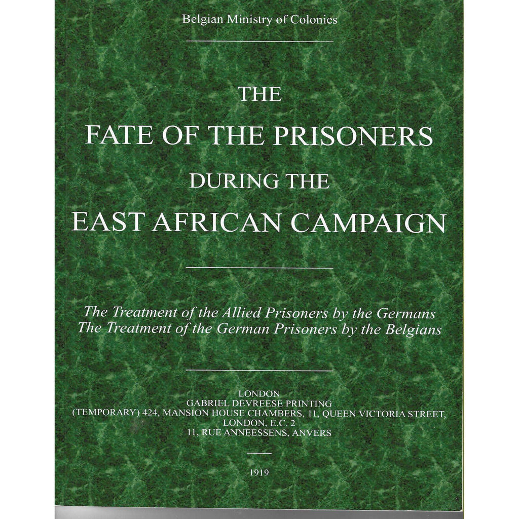 Bookdealers:The Fate of the Prisoners During the East African Campaign |  Timothy Hoffelder