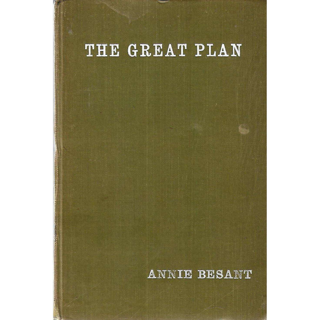 Bookdealers:The Great Plan | Annie Besant