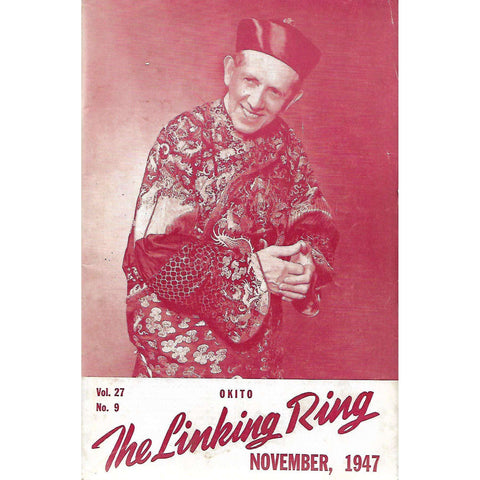 The Linking Ring (November 1947, Vol. 27 No. 9)