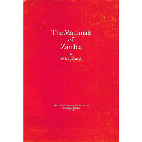 The Mammals of Zambia | W. F. H. Ansell