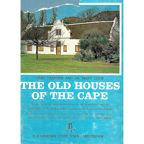 The Old Houses of the Cape | Hans Fransen & Mary Alexander Cook