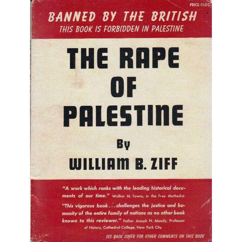 The Rape of Palestine | William B. Ziff