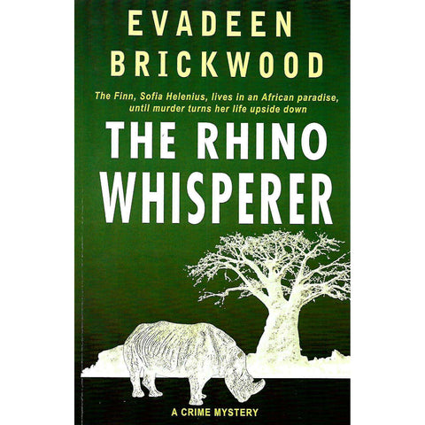 The Rhino Whisperer (Signed by Author, with her Bookmark and Card) | Evadeen Brickwood